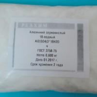 Алюминий сернокислый 18-водный ч ГОСТ ГОСТ 3758-75