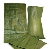 Мешок полипропиленовый зелёный